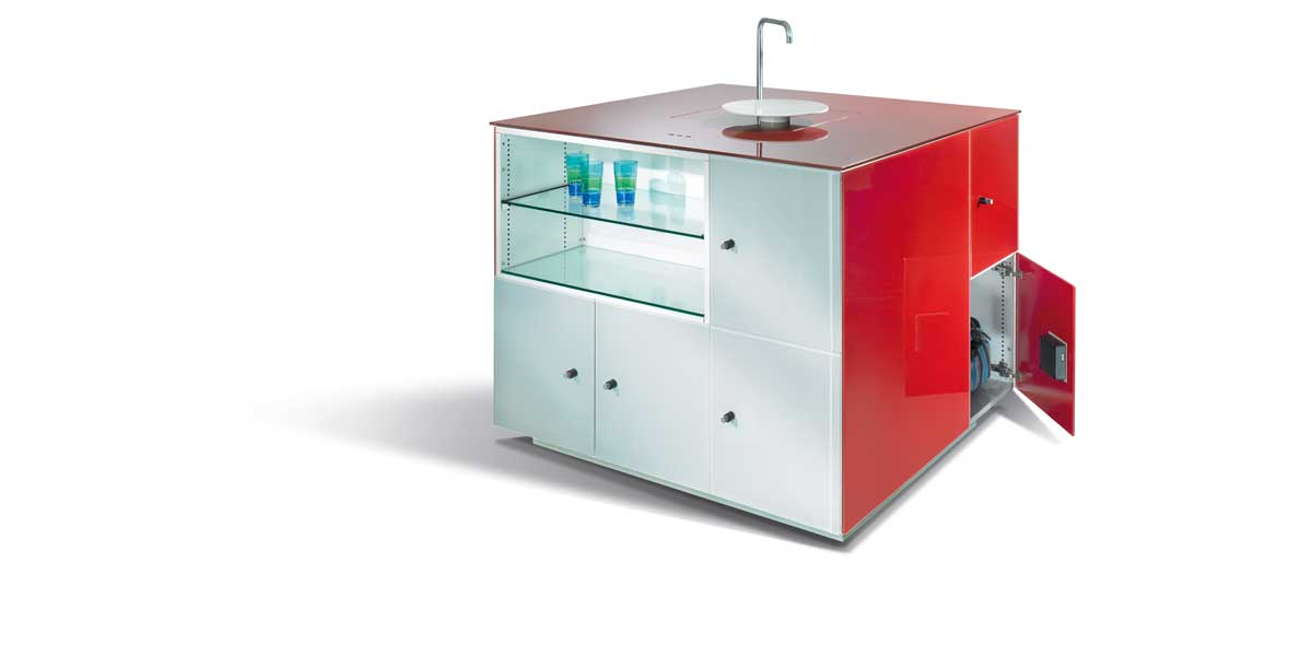 Prefino-locker-met-kraan