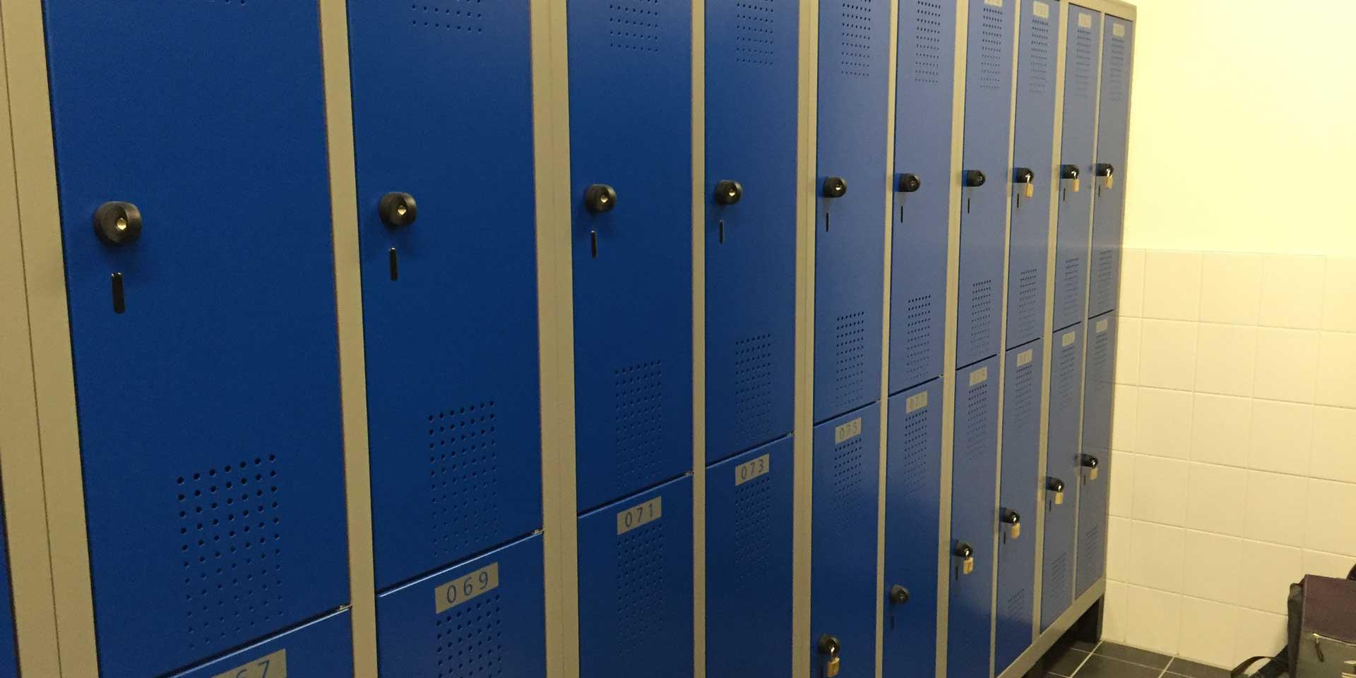 Dubbele lockers