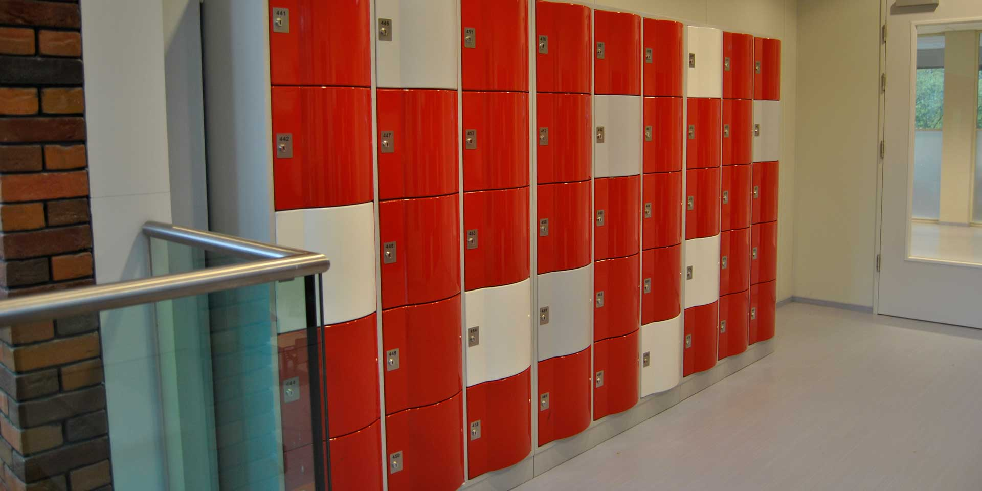 Refurbished Lockers