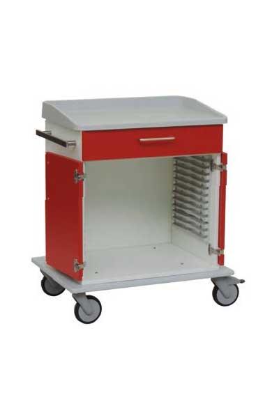 modulewagen voor ISO trays